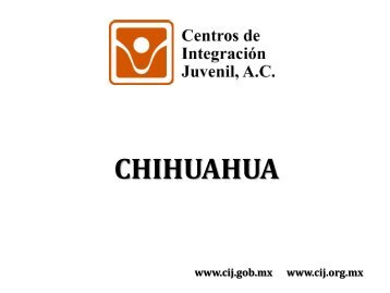 Chihuahua - Centros de Integración Juvenil
