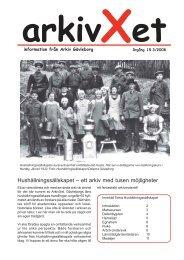 Nr 3/2008 Tema hushållnings-sällskapet - Arkiv Gävleborg