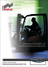 Verpackungsvorschriften - Synflex Elektro GmbH