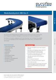 Datenblatt MB-flex S - Euroflex GmbH