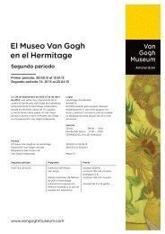 El Museo Van Gogh en el Hermitage - Van Gogh Museum