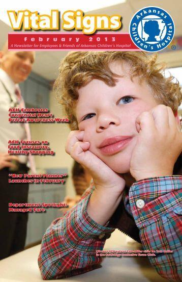 February 2013 - Arkansas Children's Hospital