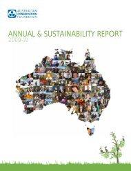 Annual Report 2009-10 - Australian Conservation Foundation
