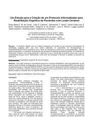 Um Estudo para a Criação de um Protocolo Informatizado ... - SBIS