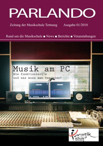 Masterstudiengänge - Musikschule Tettnang