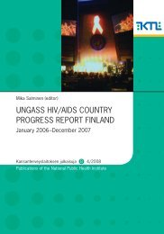 Finland - Country Progress Report - unaids