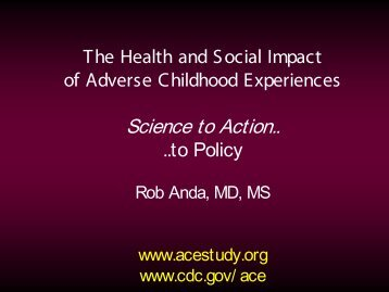 Adverse Childhood Experiences PPT - United Front