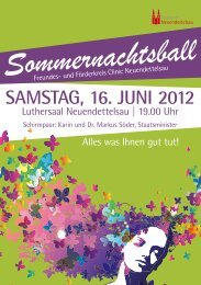 SamStag, 16. Juni 2012 - Diakonie Neuendettelsau