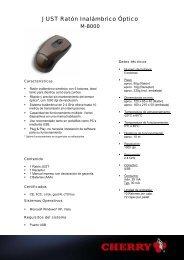 JUST Ratón Inalámbrico Óptico - Barcitronic