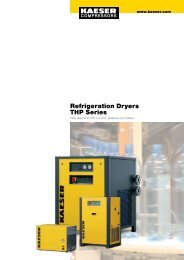 Refrigeration Dryers THP Series