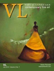 Visual Language Magazine Contemporary Fine Art Vol 2 No 7