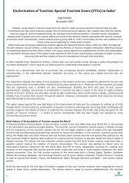 Enclavisation of Tourism-Special Tourism Zones _STZs_ in India-15 ...
