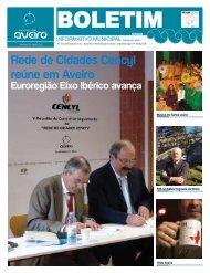 Rede de Cidades Cencyl reúne em Aveiro - Câmara municipal de ...