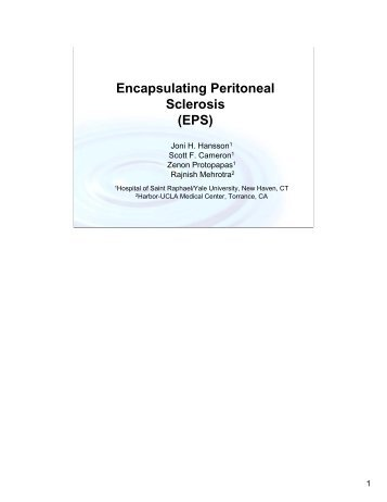 international society of peritoneal dialysis guidelines