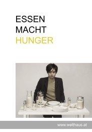 ESSEN MACHT HUNGER - Welthaus Graz