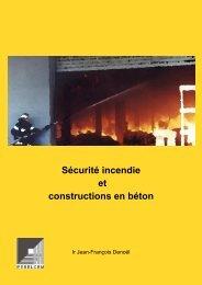 Sécurité incendie et constructions en béton - Febelcem