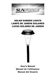 solar garden lights lamps de jardin solaires luces ... - Home Depot
