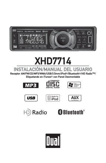 XHD7714 - Dual Electronics