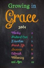 Ministries Booklet - Grace Episcopal Church