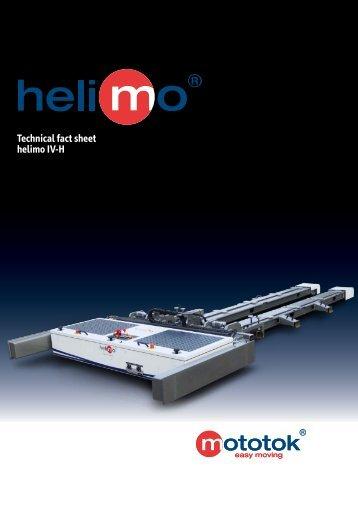 Technical fact sheet helimo IV-H - Mototok