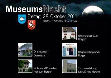 MuseumsNacht - typodoro