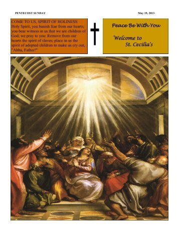 May 19, 2013 - Readings for July 8 - Monday of the Fourteenth ...