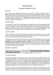 Carta de Inácio aos Filadélfios - estef