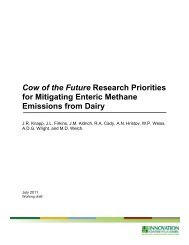 Cow of the Future Research Priorities white paper - Innovation ...