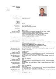Europass CV - Prešovská univerzita v Prešove