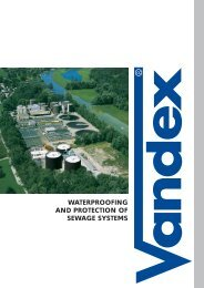 waterproofing and protection of sewage systems - Safeguard ...