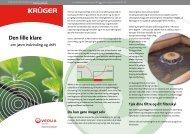 Den lille klare - om jævn indvinding og drift (PDF 315 Kb) - Krüger A/S