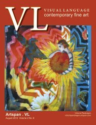 Visual Language Magazine Contemporary Fine Art  Vol 2 No 8