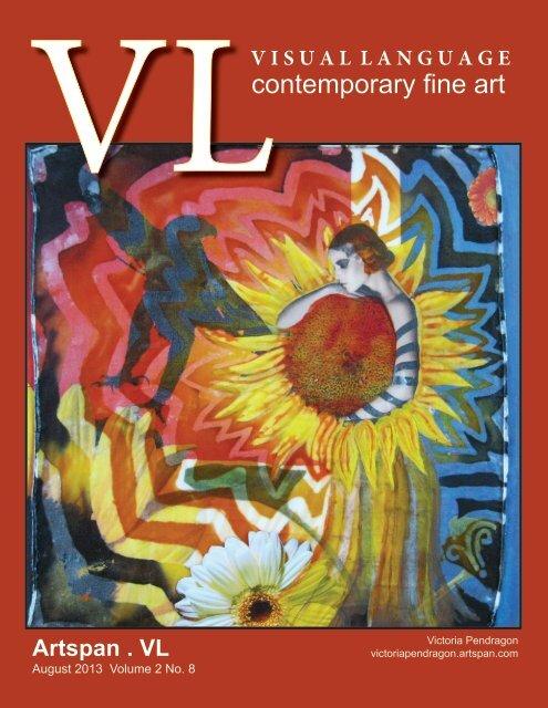 Visual Language Magazine Contemporary Fine Art  Vol 2 No 8