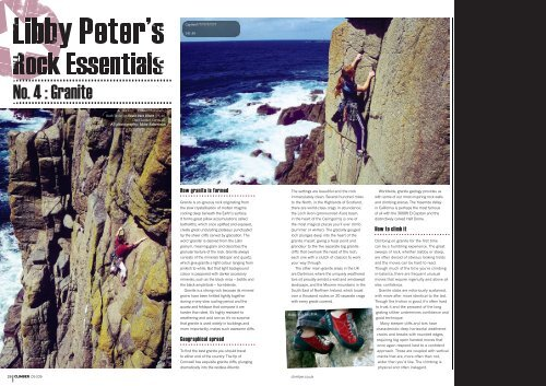 No. 4 : Granite - Libby Peter