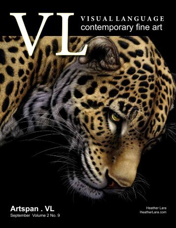 Visual Language Magazine Contemporary Fine Art Vol 2 No 9 September 2013