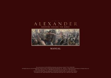 Alexander - Manual - English - Metaboli