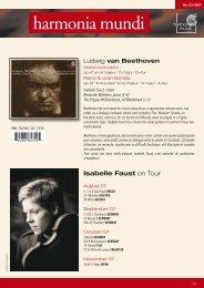 Isabelle Faust - Harmonia Mundi