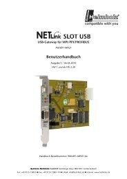 NETLink Slot USB Anleitung - TP Automation e.K.