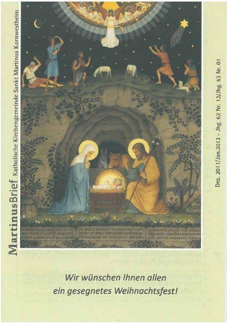 Untitled - Katholische Kirchengemeinde St. Martin in Kornwestheim
