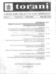 JURNAL ILMU @LAUTANDAN PERIKANAN - Coremap
