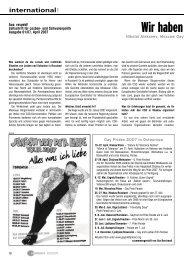 Wir haben große Pläne… - Hirschfeld-Eddy-Stiftung