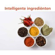 Intelligente ingrediënten - Food Valley