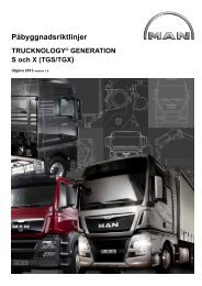 TRUCKNOLOGY® GENERATION S och X (TGS/TGX) - MANTED