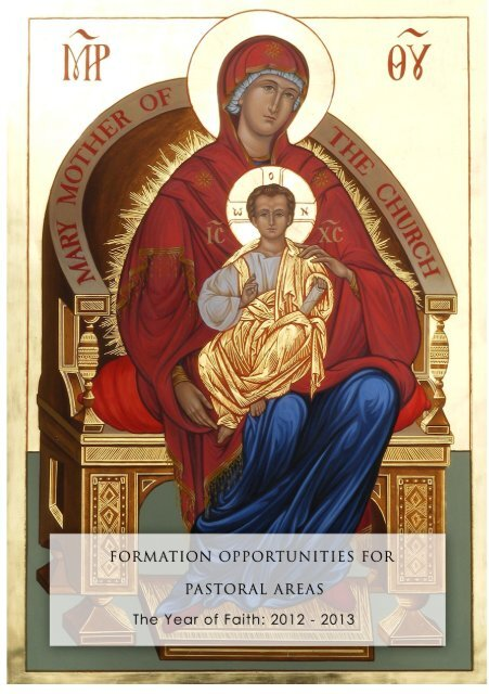 Pastoral Area Formation Flyer.pdf - Catholic Diocese of Christchurch