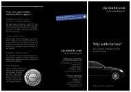 Why settle for less? - Vip-shuttle.com