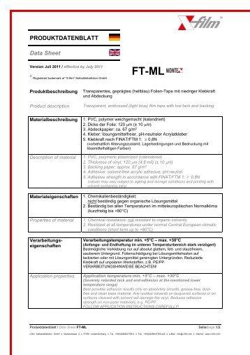 Produktdatenblatt downloaden (PDF) - \