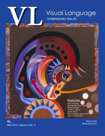 Visual Language Magazine Contemporary Fine Art Vol 3 no 5