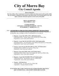 12.11.12 Agenda Packet - Morro Bay