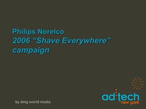 """2006 """"Shave Everywhere"""" campaign"""