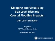 Mapping and Visualizing Sea Level Rise and ... - GeoTools - NOAA